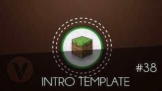 Free 2D Intro #38 | Minecraft Sony Vegas Template