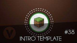 Free 2D Intro #38 | Minecraft Sony Vegas Template