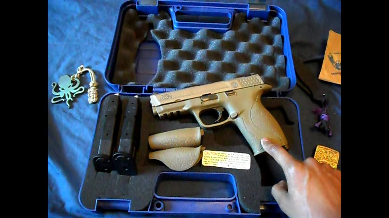 Smith And Wesson (S&W) M&P VTAC FDE Unboxing And Review