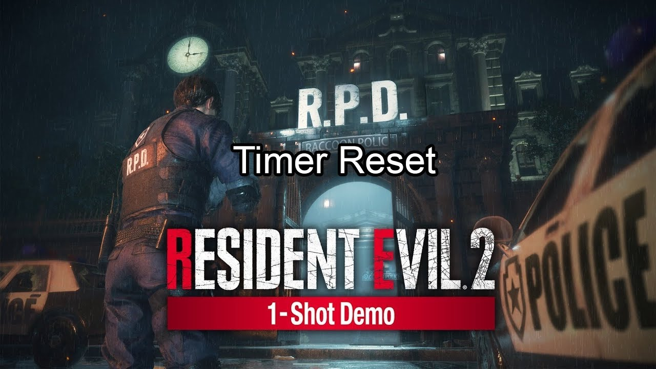 You Can Reset the Timer on the Resident Evil 2 Remake Demo | USgamer