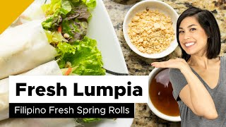 Fresh Lumpia | Lumpiang Sariwa Recipe (Filipino Food)