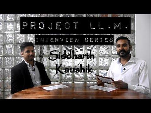 Siddharth Kaushik - ILS, Pune (2013) ; MIDS, Geneva (2018)