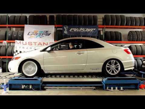 Z's 07 Civic SI [FG2] Dyno day at Evasive Motorsports
