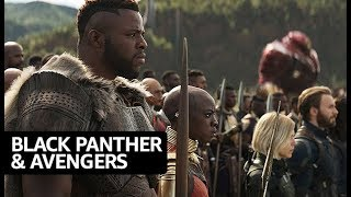 'Black Panther' Cast Choose Which 'Avenger' They Would Team Up With | IMDb EXCLUSIVE