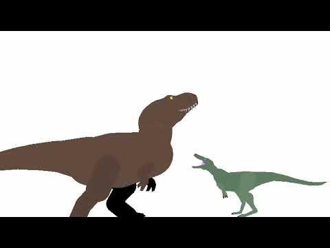 Little sticks origin episode 24: Tyrannosaurus rex vs nanotyrannus