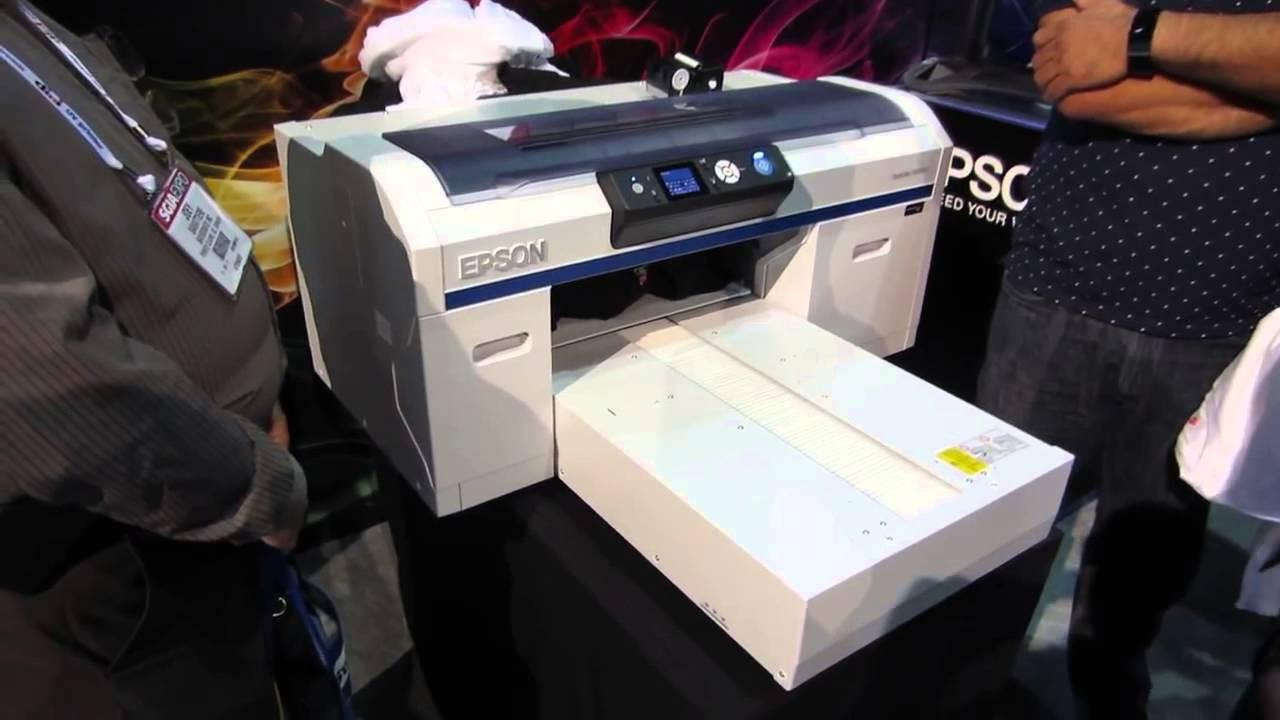 Download Epson SureColor F2000 - Dark Shirt Printing Start to Finish