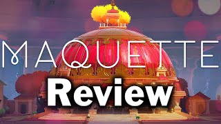 Maquette Review (PS5, PS4, PC) (Video Game Video Review)