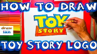 How to Draw the Toy Story Logo - Easy things to Draw