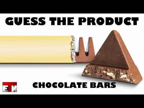 ETN Ad Quiz - Guess The Product - CHOCOLATE BARS
