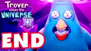 Trover Saves the Universe - Gameplay Walkthrough Part 4 - Ending! Mixed World, and After Life! 100%!