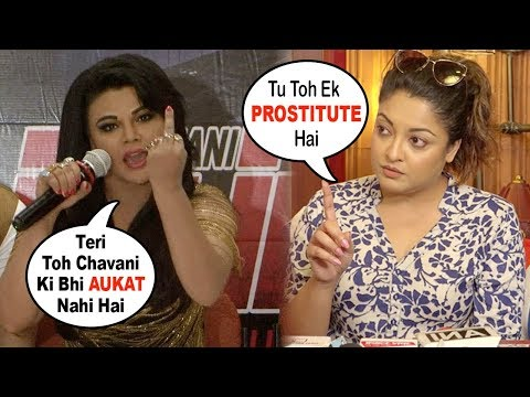 Rakhi Sawant Insults Tanushree Dutta | #metoo | Rakhi Sawant & Tanushree Dutta Big Fight