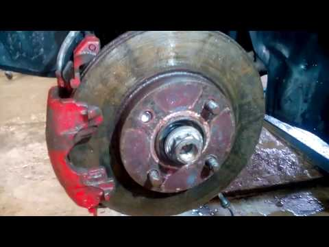 Форд Фокус 1 Замена ступичного подшипника