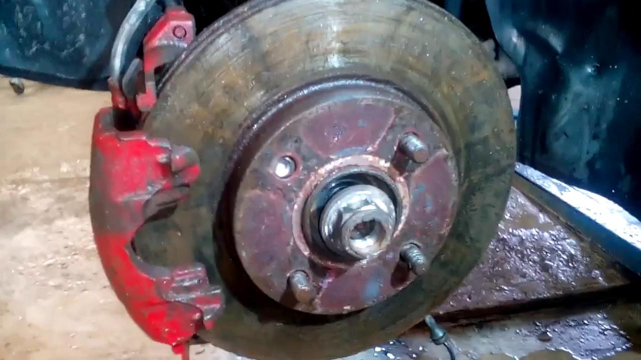 266Видео замена заднего ступичного подшипника форд фокус 1