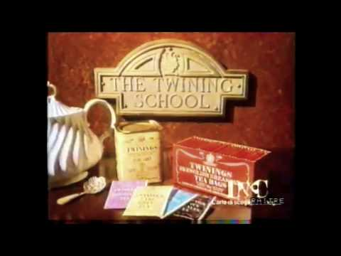 Tè Twining 1988 Il tè è un grande rito che devi rispettar