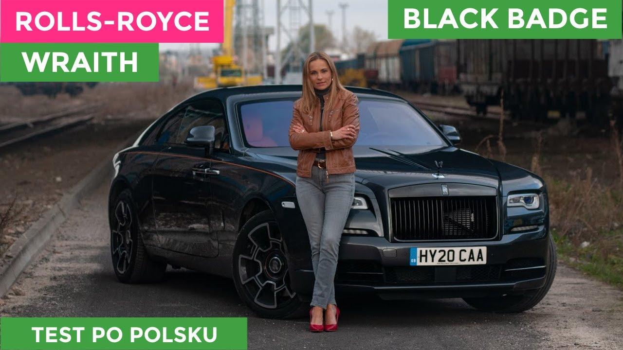 ROLLS-ROYCE   Wraith BLACK BADGE   test po POLSKU