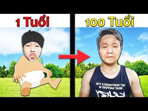 NẾU SLENDERMAN CÓ CUỘC SỐNG TỪ 1 TUỔI ĐẾN 100 TUỔI   Thử Thách SlenderMan