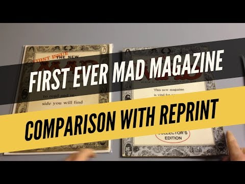 First Ever Mad Magazine
