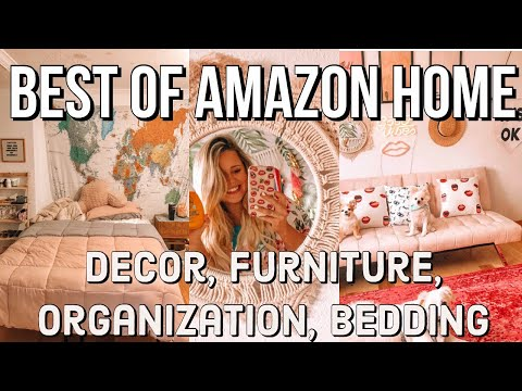 BEST OF AMAZON HOME ITEMS 2019 | organization, decor, furniture, bedding + more