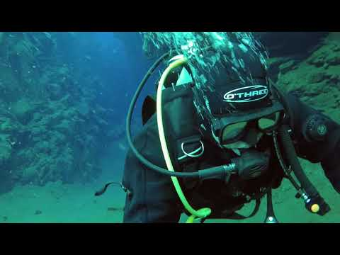 Silfra iceland scuba diving gopro 5