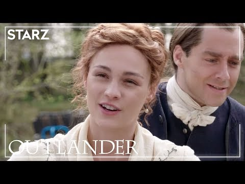 Outlander | Brianna & Roger's Wedding BTS | Season 5
