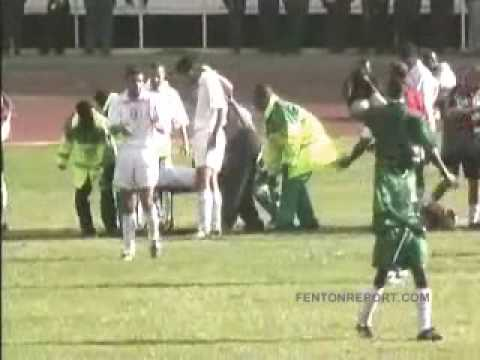 Kenya vs Tunisia Football Match Jim Rogers and Paige Parker
