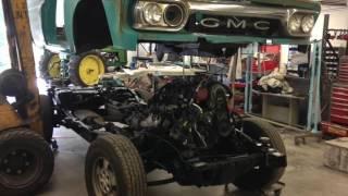 1965 4x45.3L LS Fuel Injected Suburban Part 1