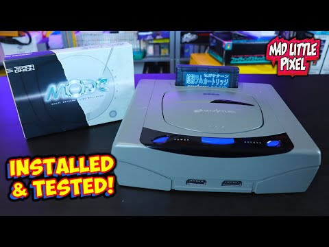 TerraOnion MODE Sega Saturn Install,Test & First Impressions! Was It Worth $200? Review