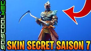 THE SKIN SECRET OF THE BIG FROID DEFI, SKINS FORTNITE FREE