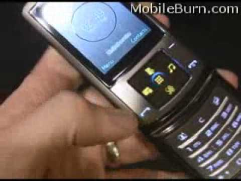 Samsung SGH-U900 Soul at Mobile World Congress 2008