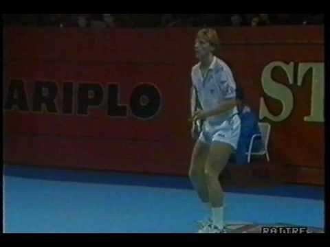1989   Milano   Semifinale   Becker b McEnroe