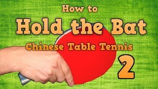 table tennis shakehand grip techniques