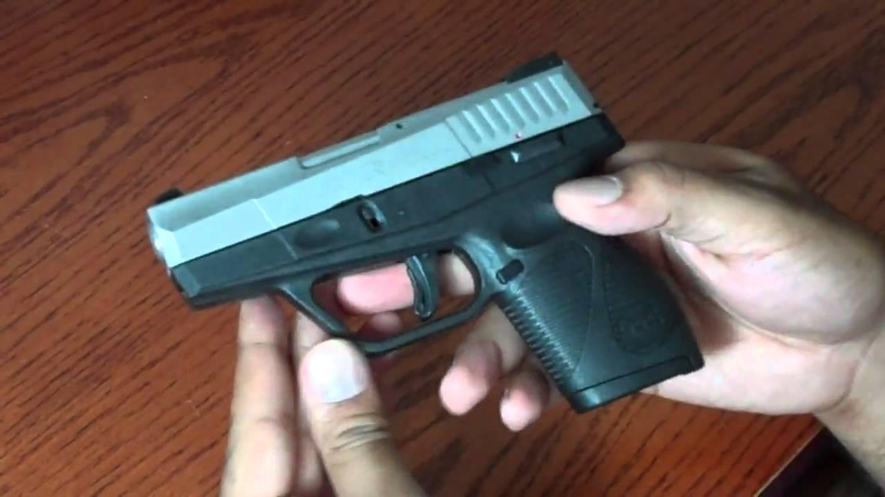 709 slim 9mm pistol - Taurus Pt 709 Slim Review Hd