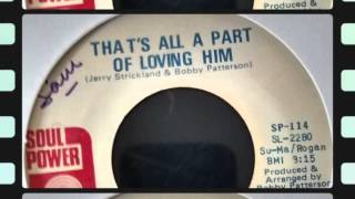 Cover images TOMMIE YOUNG - THAT'S ALL A PART OF LOVING HIM