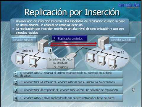 11.- Administración y Control de WINS