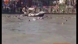 العراق: إنقاذ 55 شخصاً بينهم طفلاً بعد غرق العبارة في الموصل