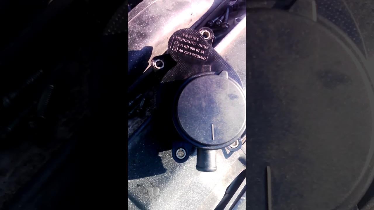 прорыв картерных газов мерседес 609 двиг. 364