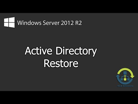 How to perform a non-authoritative and authoritative AD restore on Windows Server 2012 R2