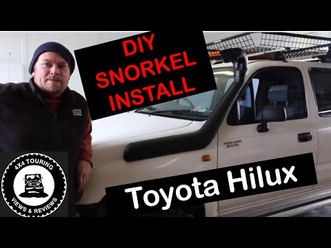 DIY: Snorkel Install Toyota Hilux