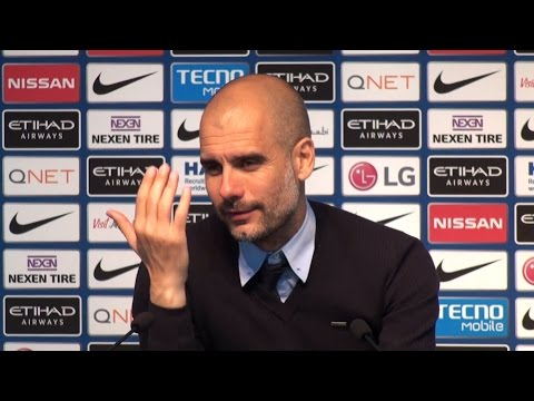 Manchester City 2-1 Leicester - Pep Guardiola Full Post Match Press Conference