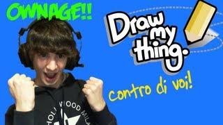 FAVIJ VINCITORE SUPREMO!! - Draw My Thing - CONTRO DI VOI!