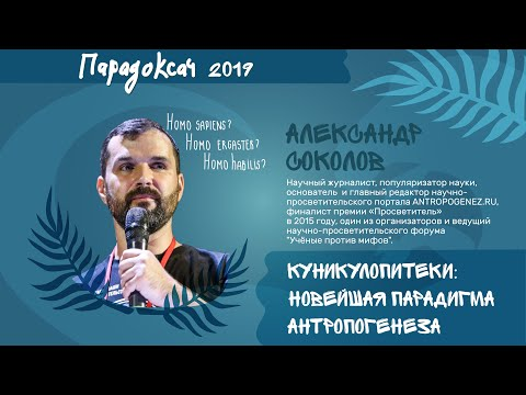 Парадоксач | Куникулопитеки: Новейшая парадигма антропогенеза – Александр Соколов