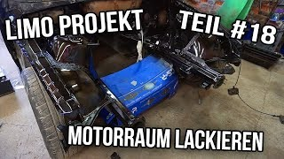Projekt E36 Limo Teil #17 | Motorraum Lackieren