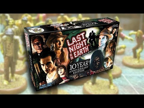 Last night on earth 10th anniversary edition - Ънбоксинг