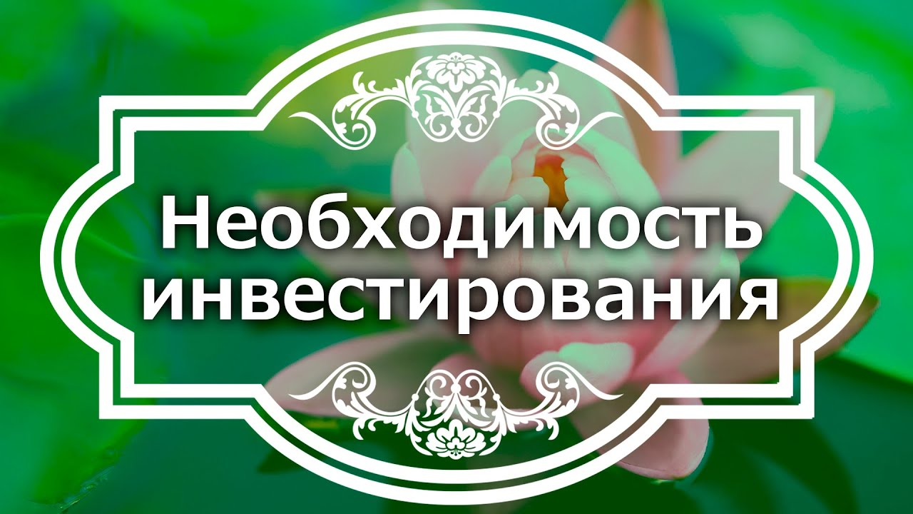 Екатерина Андреева - Необходимость инвестирования
