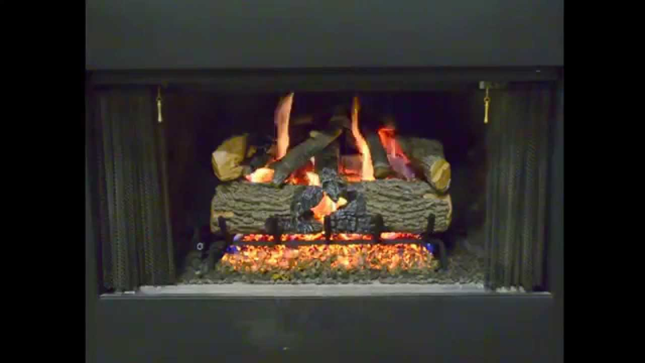 The New Charred Evergreen Oak with Radiant Fyre Burner. Specially formulated