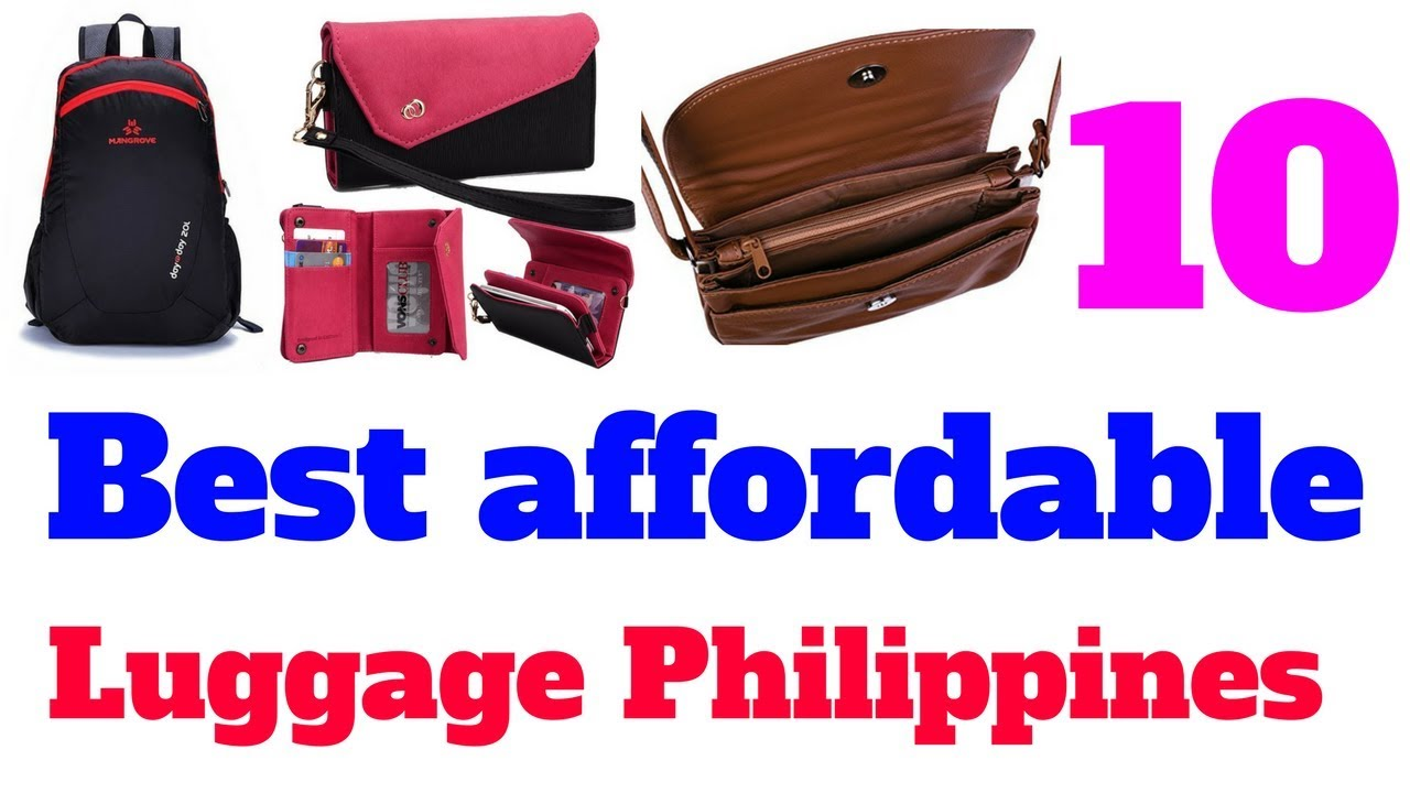 Top 10 Best affordable luggage philippines - YouTube