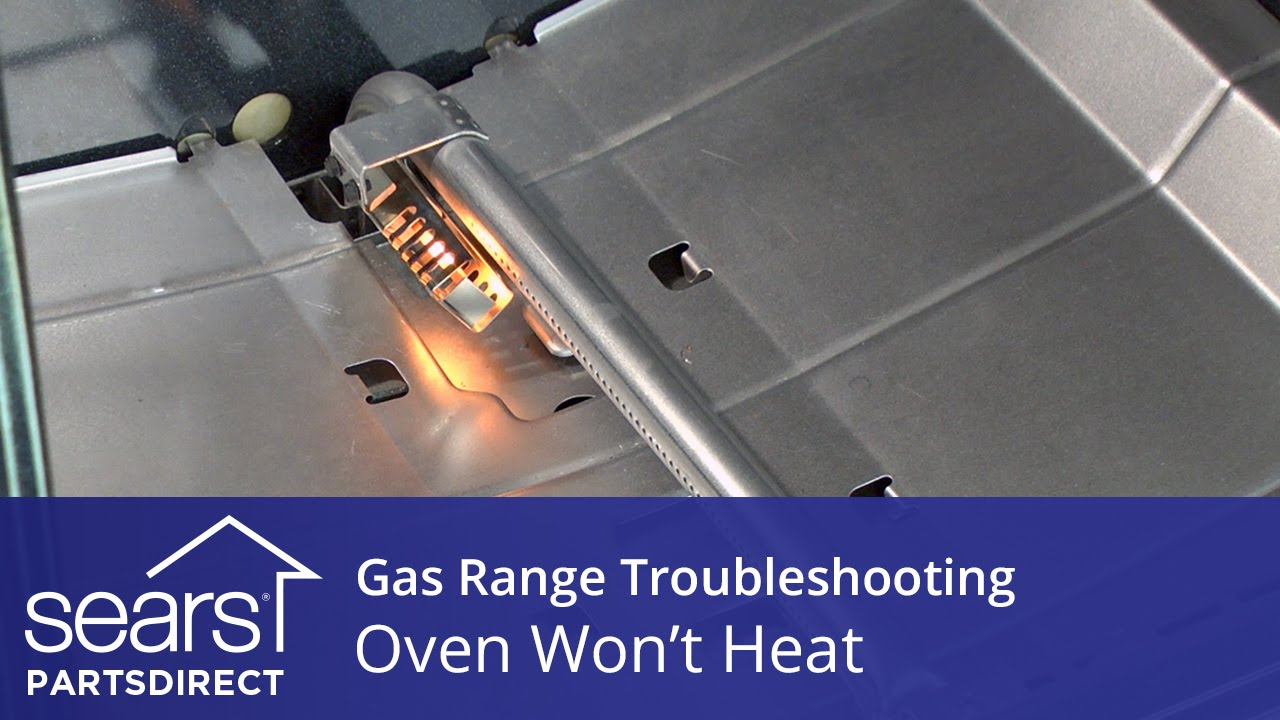Oven Wonu0027t Heat: Troubleshooting Gas Range Problems   YouTube