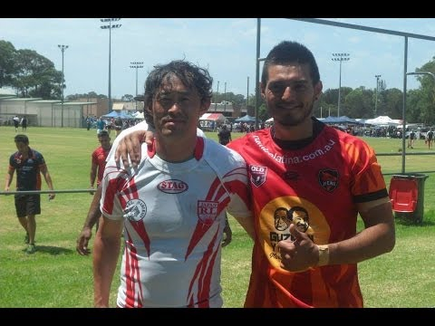 GYG Latin Heat Rugby League v Japan Samurais