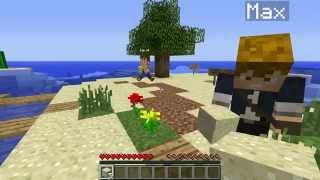 Майнкрафт выживание с Мистиком и Лагером. Survival Island часть 1 Мистик Макс Кирич