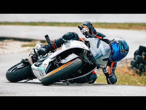 KTM RC 390 from DRIFT to RACE [part 2 - MONSTER UPGRADE] | RokON vlog #88